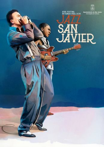 Cartel de la XVIII edici´´on de Jazz San Javier.